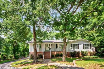 Mobile County Single Family Home For Sale: 301 Trent Mill Court