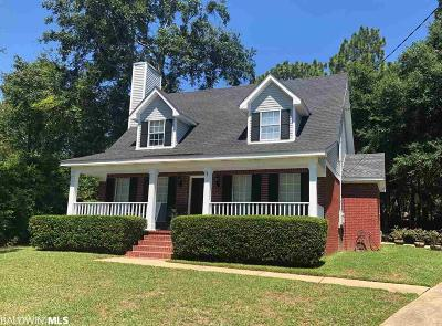 Daphne Single Family Home For Sale: 123 Buena Vista Drive