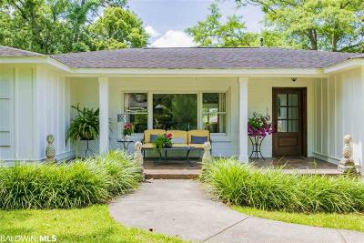 Fairhope Single Family Home For Sale: 410 Fairwood Blvd