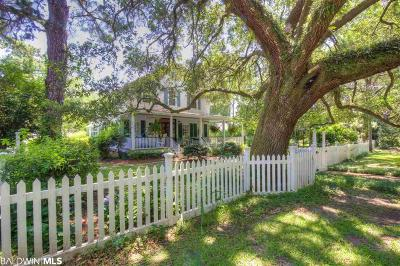 Fairhope Single Family Home For Sale: 23690 2nd Street
