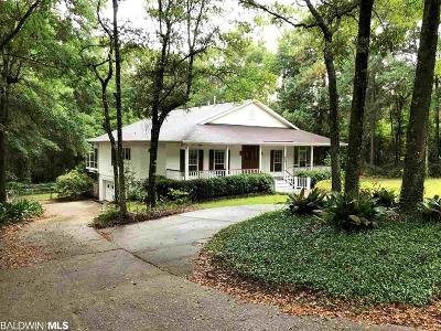 Fairhope Single Family Home For Sale: 500 Washington Drive
