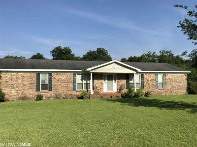 Mobile County Single Family Home For Sale: 8110 McDonald Road