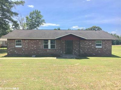 Santa Rosa County Single Family Home For Sale: 6543 Daniel Griffis Rd