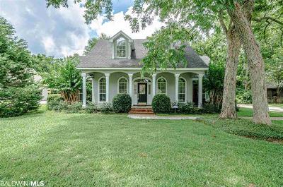 Fairhope Single Family Home For Sale: 9631 Hucknall Drive