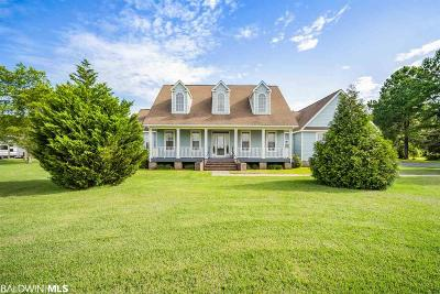 Summerdale Single Family Home For Sale: 13029 Underwood Road