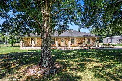 Mobile County Single Family Home For Sale: 4150 E Dawes Lane