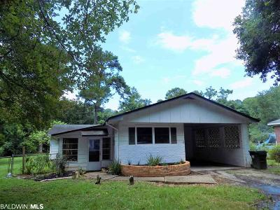 Foley Single Family Home For Sale: 7491 W Coopers Landing Rd