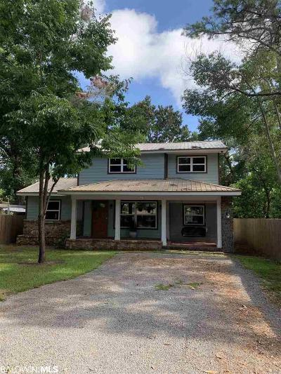Gulf Shores Single Family Home For Sale: 428 W Canal Drive