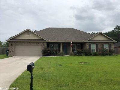 Summerdale Single Family Home For Sale: 16966 Hammel Dr