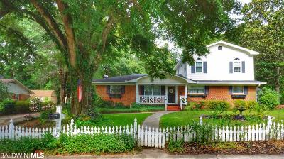 Daphne, Fairhope, Spanish Fort Single Family Home For Sale: 66 Ashley Drive