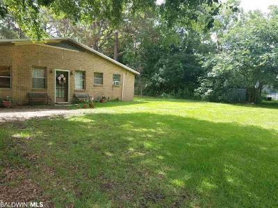 Robertsdale Single Family Home For Sale: 19974 E Silverhill Avenue