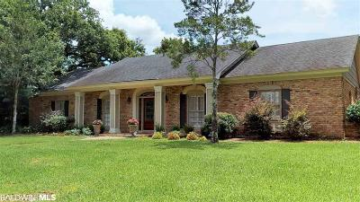 Mobile County Single Family Home For Sale: 3713 Calderwood Drive