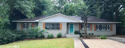 Fairhope Single Family Home For Sale: 600 Gayfer Avenue