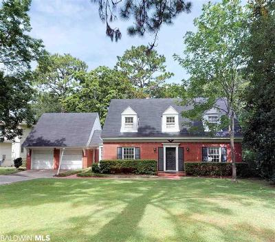 Mobile County Single Family Home For Sale: 71 E Ridgelawn Drive