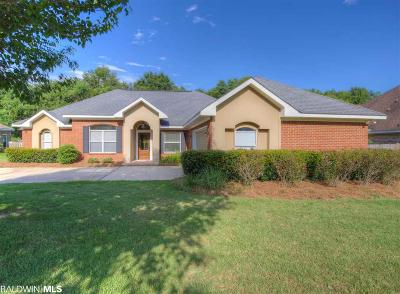 Fairhope Single Family Home For Sale: 8856 Lake View Drive