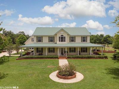 Elberta Single Family Home For Sale: 11702 Stucki Rd