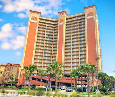 Gulf Shores Condo/Townhouse For Sale: 401 E Beach Blvd #1302
