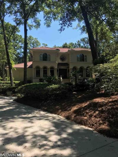Fairhope Single Family Home For Sale: 17330 Bedford Court