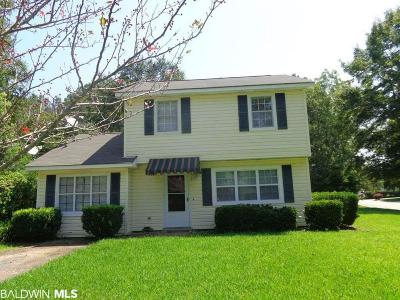 Fairhope Single Family Home For Sale: 202 Patrician Street