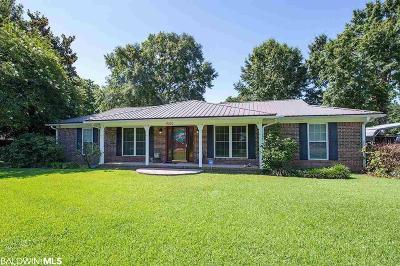 Robertsdale Single Family Home For Sale: 18920 E Silverhill Avenue