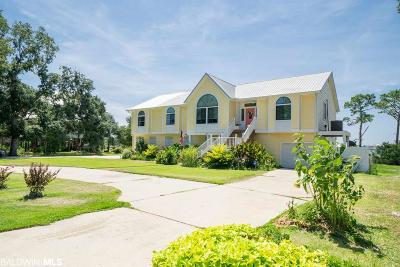 Gulf Shores AL Single Family Home For Sale: $725,000