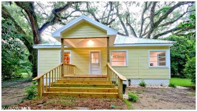 Magnolia Springs Single Family Home For Sale: 14353 Cougill Av