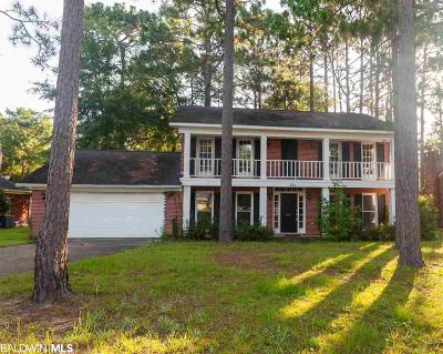 Daphne Single Family Home For Sale: 131 Rolling Hill Drive