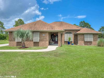 Foley Single Family Home For Sale: 9570 Fairway Drive