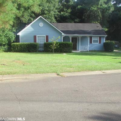 Fairhope Single Family Home For Sale: 8680 Brook Lane