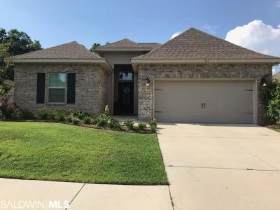Fairhope Single Family Home For Sale: 616 Turquoise Drive