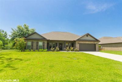 Summerdale Single Family Home For Sale: 16758 Hammel Dr