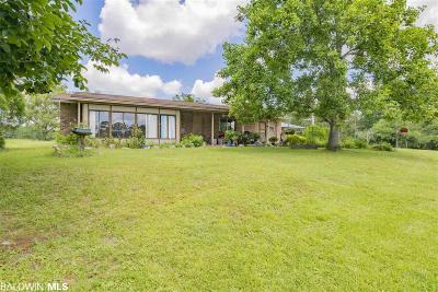 Elberta Single Family Home For Sale: 10554 Coleman Lane