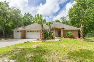 Gulf Shores Single Family Home For Sale: 22023 Creek Road