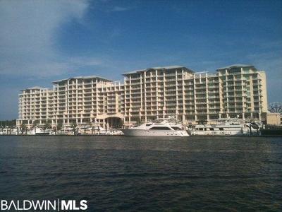 Gulf Shores, Orange Beach Condo/Townhouse For Sale: 4851 Wharf Pkwy #906