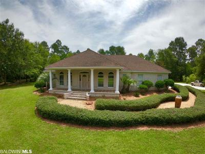 Gulf Shores Single Family Home For Sale: 5254 Beatrice Road