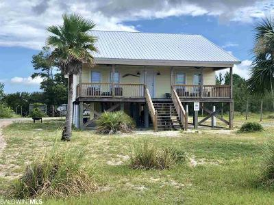 Gulf Shores Single Family Home For Sale: 1280 W Lagoon Avenue