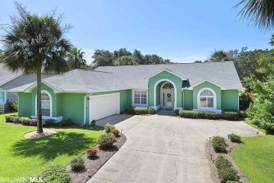 Gulf Shores Single Family Home For Sale: 39 Lagoon Dr