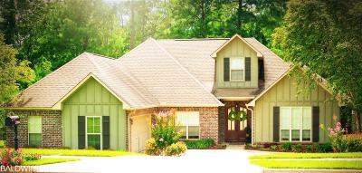 Daphne Single Family Home For Sale: 27904 Oakachoy Lp