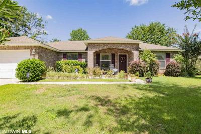 Foley Single Family Home For Sale: 1805 Bay Street