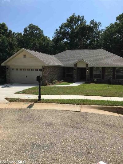 Bon Secour, Daphne, Fairhope, Foley, Magnolia Springs Single Family Home For Sale: 11532 Mesa Dr