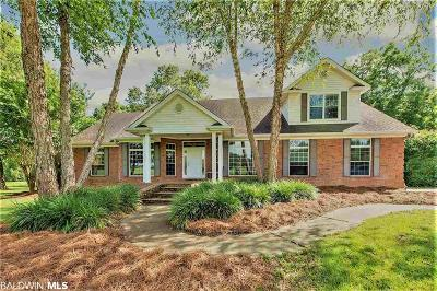 Summerdale Single Family Home For Sale: 16832 Acadiana Drive