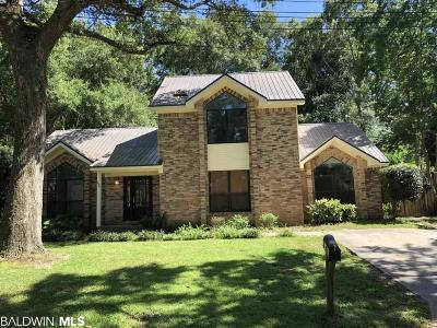 Fairhope Single Family Home For Sale: 45 Echo Lane