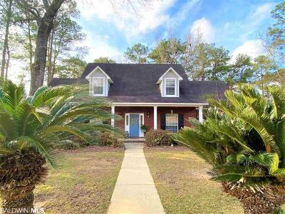Spanish Fort Single Family Home For Sale: 3 Judd Trail