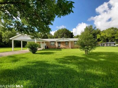 Foley Single Family Home For Sale: 19070 Keller Rd