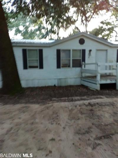 Baldwin County Single Family Home For Sale: 15524 County Road 49