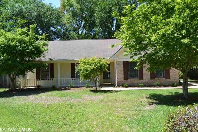 Fairhope Single Family Home For Sale: 8706 Grove Cir