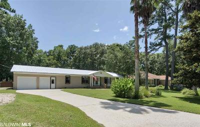 Foley Single Family Home For Sale: 7237 Franklin Rd