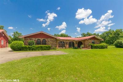 Foley Single Family Home For Sale: 16949 County Road 16