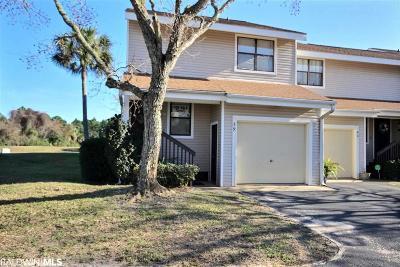Orange Beach Condo/Townhouse For Sale: 25293 Perdido Beach Blvd #39