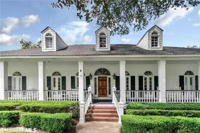 Mobile County Single Family Home For Sale: 2628 Charlotte Oaks Drive